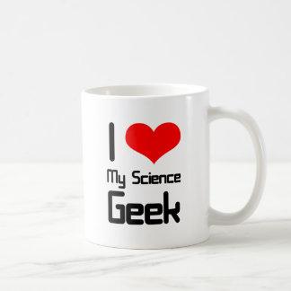 I love my science geek coffee mug