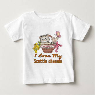 I Love My Scottie chausie Baby T-Shirt