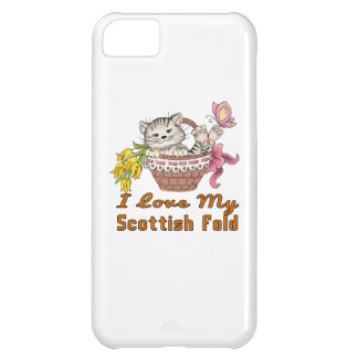 I Love My Scottish Fold iPhone 5C Case