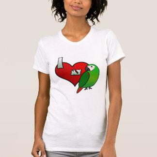 I Love my Severe Macaw Ladies T-Shirt