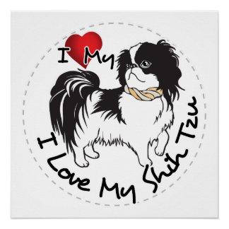 I Love My Shih Tzu Dog