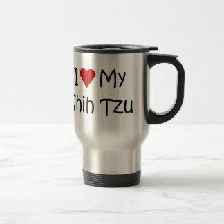 I Love My Shih Tzu Dog Breed Lover Gifts Mugs