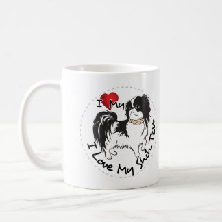 I Love My Shih Tzu Dog Coffee Mug