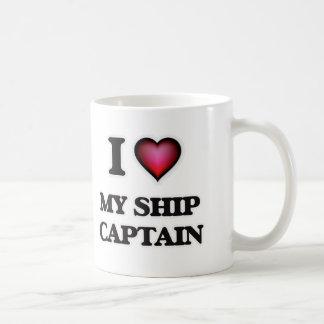 I Love My Ship Captain Coffee Mug