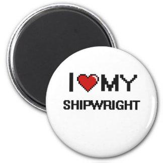 I love my Shipwright 2 Inch Round Magnet