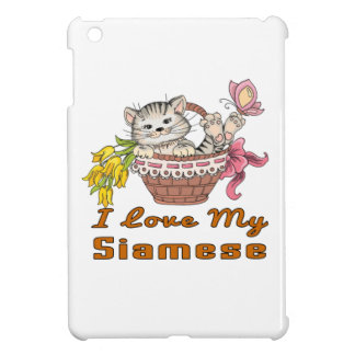 I Love My Siamese Cover For The iPad Mini