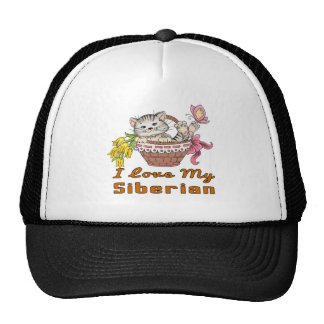 I Love My Siberian Cap