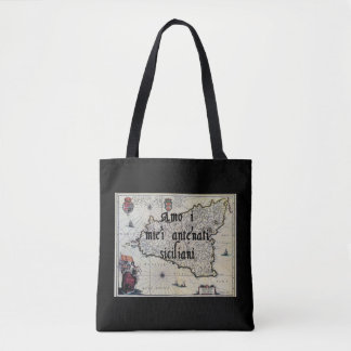 I Love My Sicilian Ancestors | Custom Tote Bag