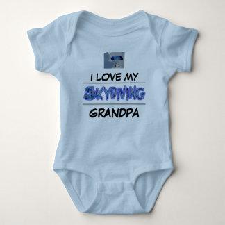 I love my Skydiving Grandpa Baby Bodysuit