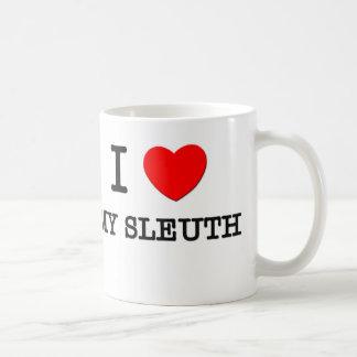 I Love My Sleuth Coffee Mug