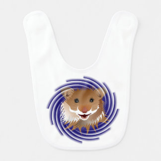 I love my small hamster Lätzchen Bibs