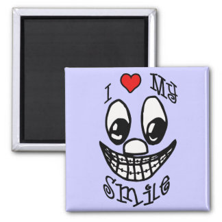 I Love My Smile Magnet