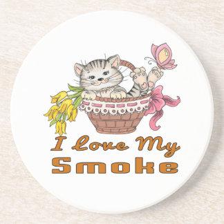 I Love My Smoke Coaster