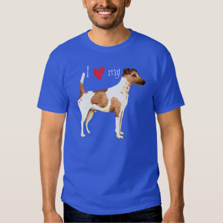 I Love my Smooth Fox Terrier Shirts