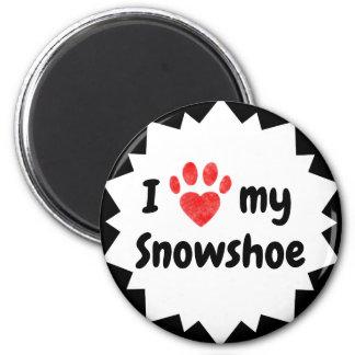 I Love My Snowshoe Cat Magnet