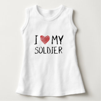 I Love My Soldier Dress
