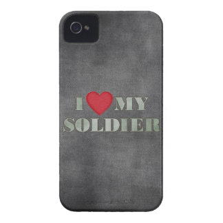 I love my soldier iPhone 4 case