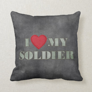 I love my soldier pillow