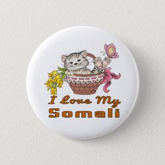 I Love My Somali 6 Cm Round Badge