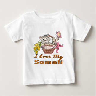 I Love My Somali Baby T-Shirt