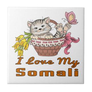 I Love My Somali Tile