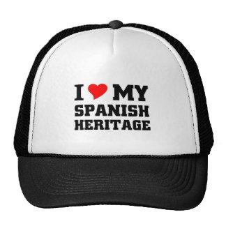 I love my spanish heritage mesh hat