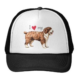 I Love my Spanish Water Dog Cap