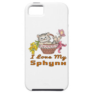 I Love My Sphynx iPhone 5 Covers