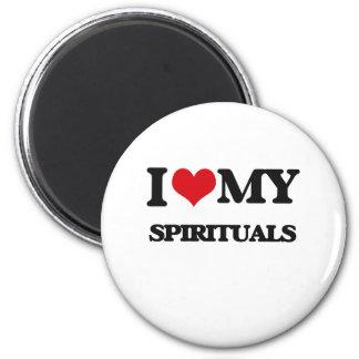 I Love My SPIRITUALS Magnet