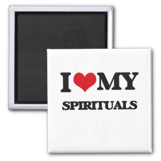 I Love My SPIRITUALS Fridge Magnet