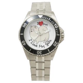 I Love My Spitz Dog Watch