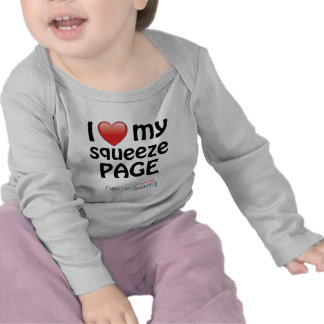 I Love My Squeeze Page Tshirts