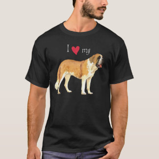 I Love my St. Bernard T-Shirt