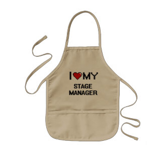 I love my Stage Manager Kids Apron