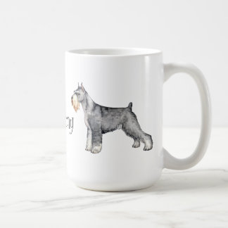 I Love my Standard Schnauzer Coffee Mug
