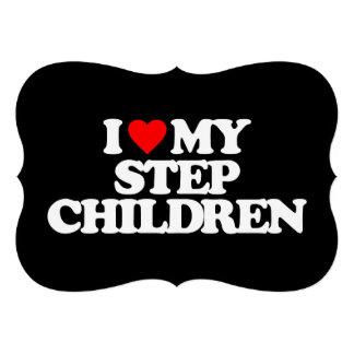 I LOVE MY STEP CHILDREN CUSTOM ANNOUNCEMENTS