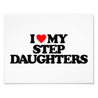 I LOVE MY STEP DAUGHTERS PHOTO