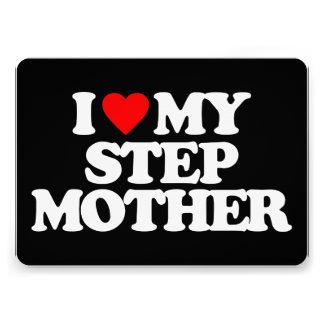 I LOVE MY STEP MOTHER CUSTOM INVITATIONS