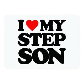 I LOVE MY STEP SON ANNOUNCEMENT