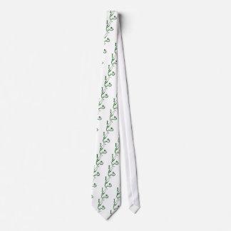 I Love My Stethoscope - Green Tie