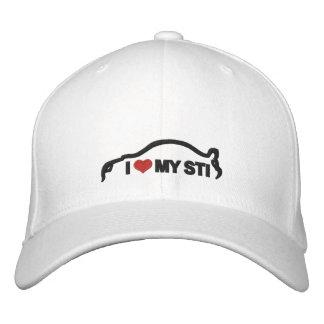 I Love My STI Embroidered Hat