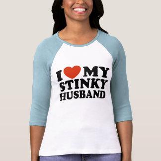 I Love My Stinky Husband Tshirt