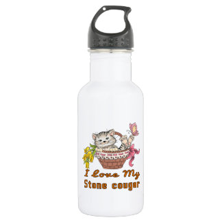 I Love My Stone cougar 532 Ml Water Bottle