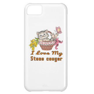 I Love My Stone cougar iPhone 5C Case