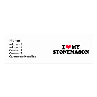 I love my Stonemason Business Card Templates