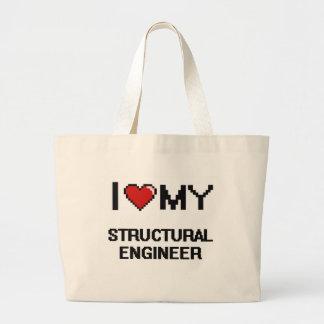 I love my Structural Engineer Jumbo Tote Bag