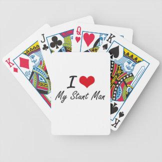 I love My Stunt Man Card Decks