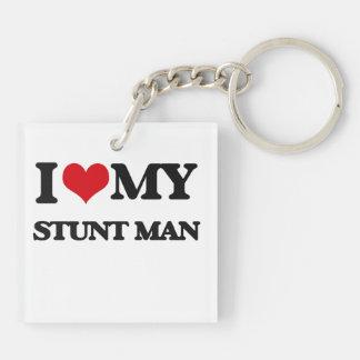I love my Stunt Man Acrylic Key Chains