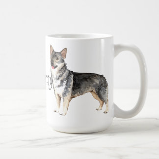 I Love my Swedish Vallhund Coffee Mug