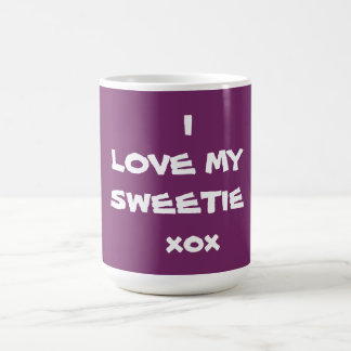 I LOVE MY SWEETIE xox - Coffee Mug -Creator RjFxx.